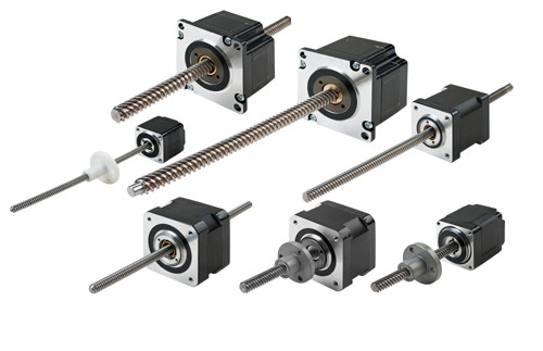 Integrated and Non-integrated Stepper Motors Linear Actuator